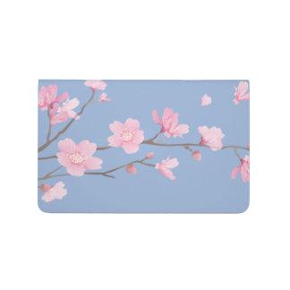 Carnet De Poche Fleurs de cerisier - bleu de sérénité