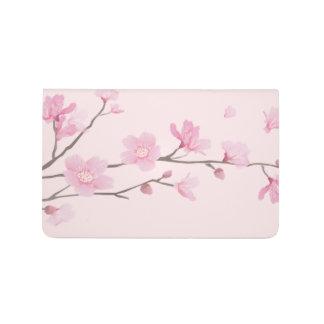 Carnet De Poche Fleurs de cerisier - rose