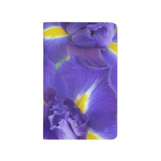 Carnet De Poche Fleurs d'iris
