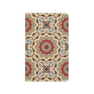 Carnet De Poche Kaléidoscope turc de tapis