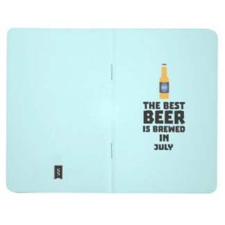 Carnet De Poche La meilleure bière est en juillet Z4kf3 brassé