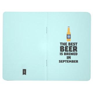Carnet De Poche La meilleure bière est en septembre Z40jz brassé