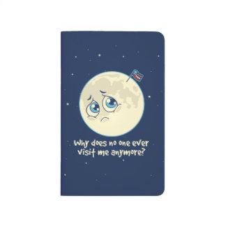 Carnet De Poche Lune triste