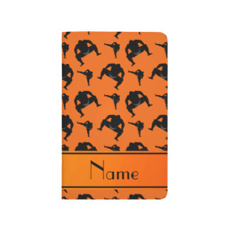 Carnet De Poche Lutte de sumo orange nommée personnalisée