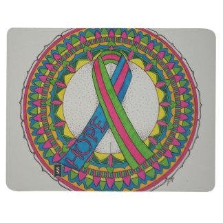 Carnet De Poche Mandala pour le cancer du sein métastatique