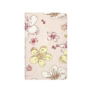Carnet De Poche Motif Girly floral