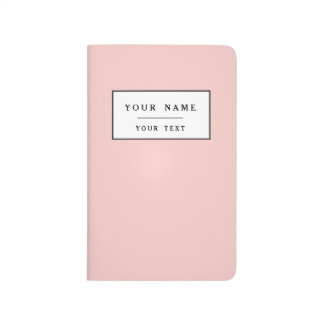 Carnet De Poche Pâlissez - le classique rose coloré
