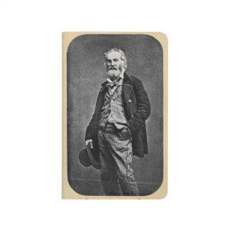 Carnet De Poche Portrait de Walt Whitman en tant que jeune homme