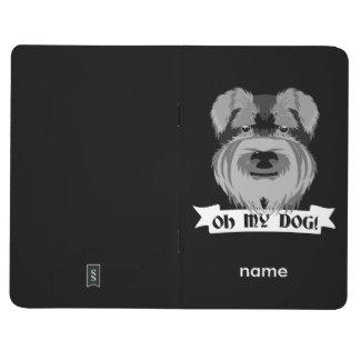 Carnet De Poche Schnauzer noir et blanc oh mon chien