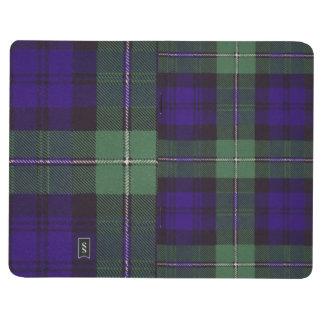 Carnet De Poche Tartan d'écossais de plaid de clan de Forbes