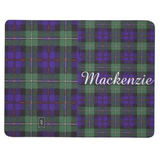 Carnet De Poche Tartan d'écossais de plaid de clan du Mackenzie