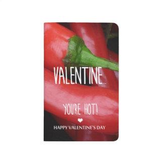 Carnet De Poche Valentine, vous êtes chauds !