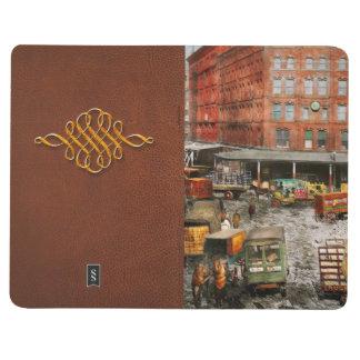 Carnet De Poche Ville - New York NY - coincée dans une ornière