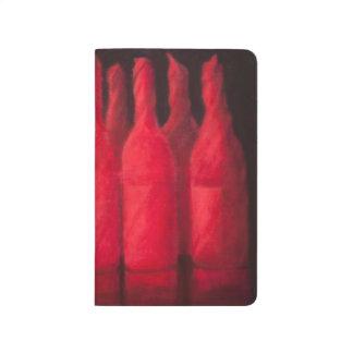 Carnet De Poche Vin enveloppé par rouge 2012