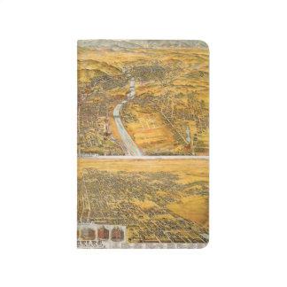 Carnet De Poche Vue de Los Angeles, 1894