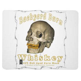 Carnet De Poche Whiskey de brûlure de jardin