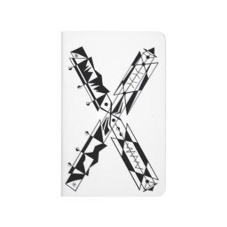 "CARNET DE POCHE ""X """