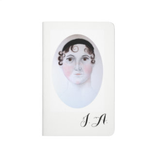 Carnet de portrait d'aquarelle de Jane Austen