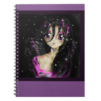 Carnet de princesse Angel Manga Girl Magic d'Anime