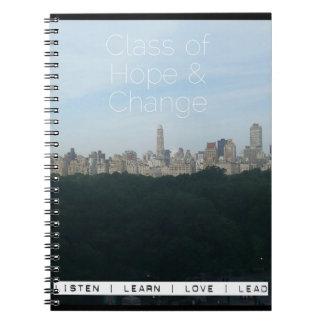 Carnet de promo d'horizon de Central Park