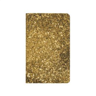 Carnet de scintillement d'or
