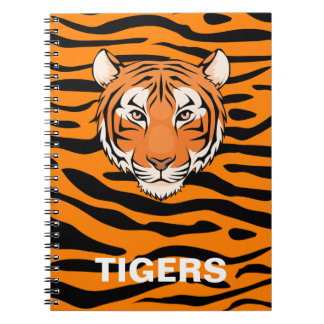 Carnet de tigre - pour cette fan de tigre dans