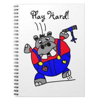 Carnet d'hippopotame de Tommy