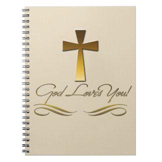 Carnet Dieu vous aime