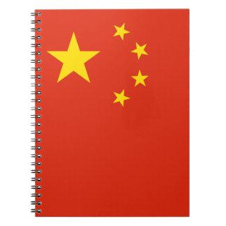 Carnet Drapeau chinois patriotique