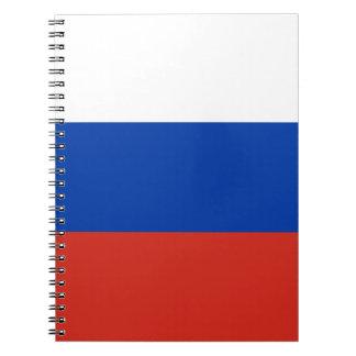 Carnet Drapeau de la Russie