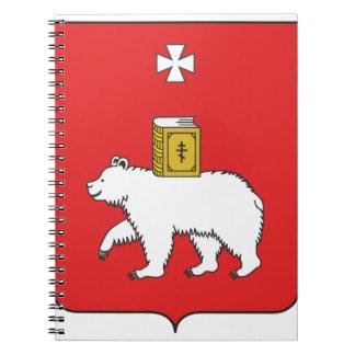 Carnet Drapeau de Perm Krai