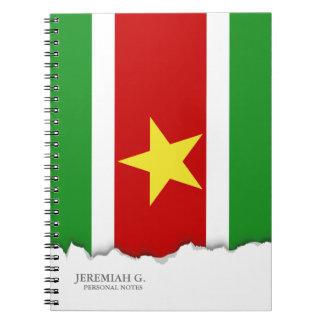 Carnet Drapeau du Surinam