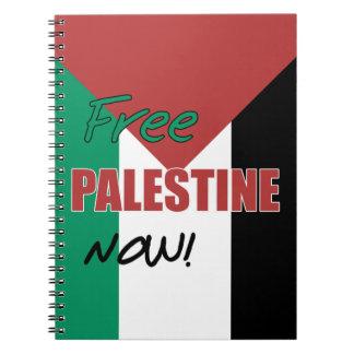 Carnet Drapeau palestinien libre de la Palestine