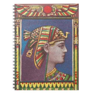 Carnet égyptien antique de la Reine