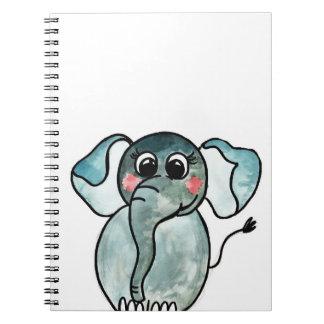 Carnet Éléphant