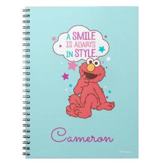 Carnet Elmo | un sourire est toujours dans le style