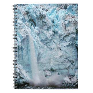 Carnet en baisse de glace