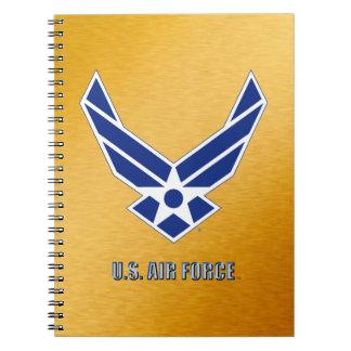Carnet en spirale de photo de l'U.S. Air Force