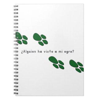 Carnet Espagnol-Ogre