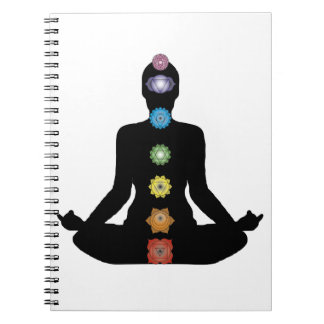 Carnet Exercice de forme physique de Chakras de yoga