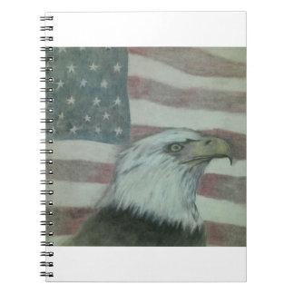 Carnet Fierté américaine Eagle