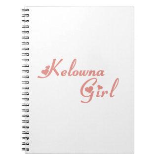Carnet Fille de Kelowna