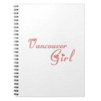 Carnet Fille de Vancouver