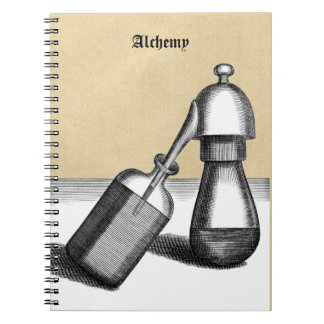 Carnet Flacon et récepteur d'alambic