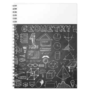 Carnet Griffonnage de la Science de la géométrie dans le