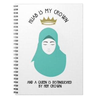Carnet Hijab est ma couronne - AQUA