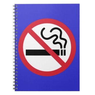 Carnet Icône non-fumeurs