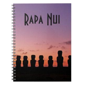 Carnet Île de Pâques Rapa Nui Chili Amérique du Sud