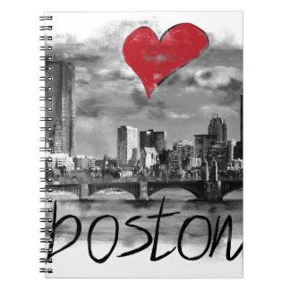 Carnet J'aime Boston