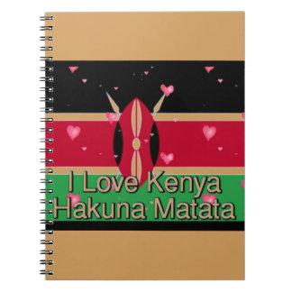 Carnet J'aime ! Le Kenya Hakuna Matata